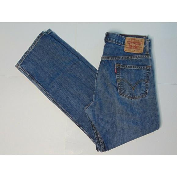 d643fd256d2 Levi's Jeans | Levis 505 31 X 32 Blue Regular Fit Denim | Poshmark